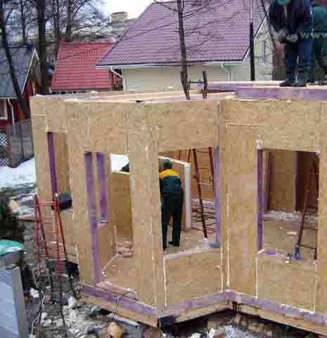 35252 Как монтировать стены из СИП-панелей? Свой дом