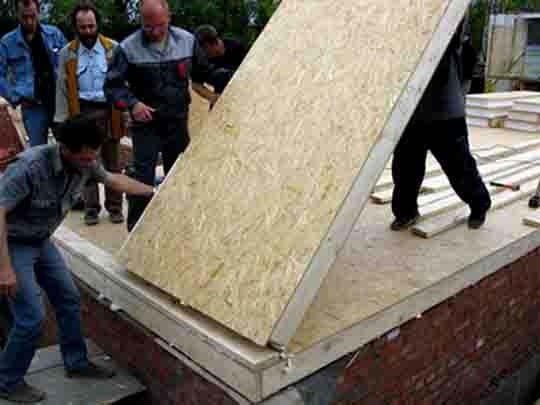 6457547 Как монтировать стены из СИП-панелей? Свой дом