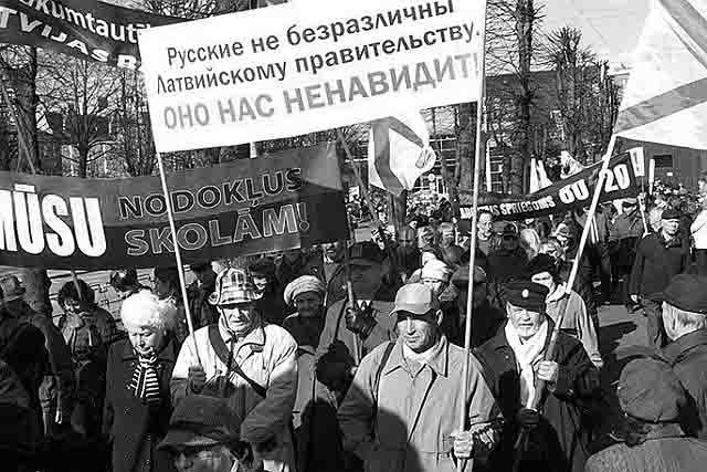 111111111111135 США и НАТО ищут подходы к русскому населению Прибалтики Анализ - прогноз