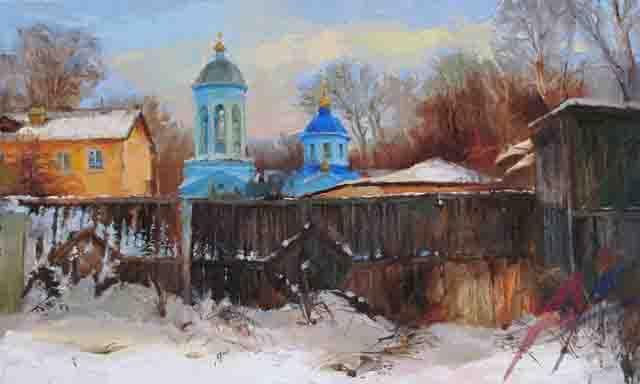 1 Художник Оксана Рощина-Егорова из Саранска Фигуры и лица