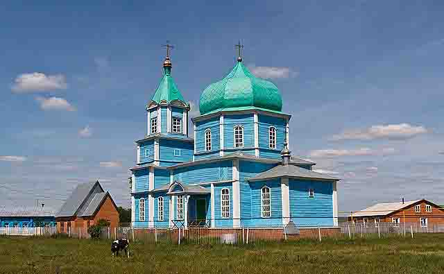 3-1 Село Малое Ишуткино в Самарской области Посреди РУ Самарская область
