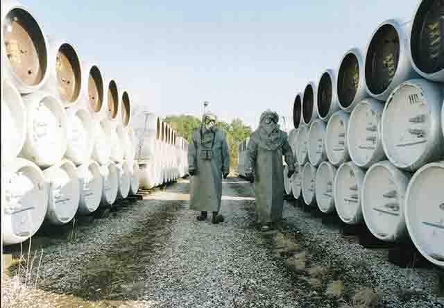 3 Химическое оружие уничтожено в Удмуртии Защита Отечества Удмуртия