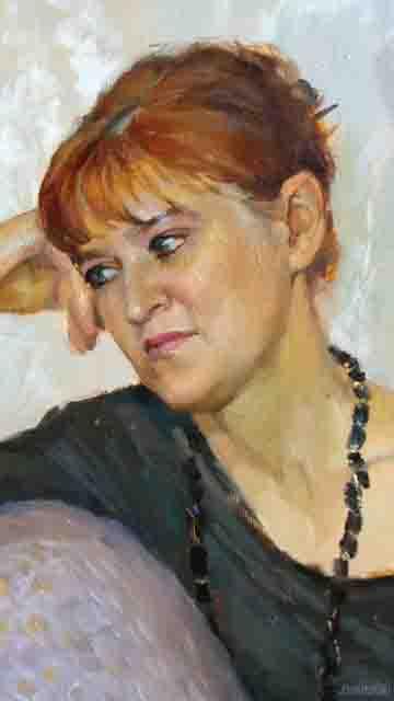 4 Художник Оксана Рощина-Егорова из Саранска Фигуры и лица