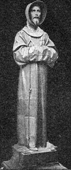 76544 Святой Франциск и его деревянная статуя Блог писателя Сергея Синенко