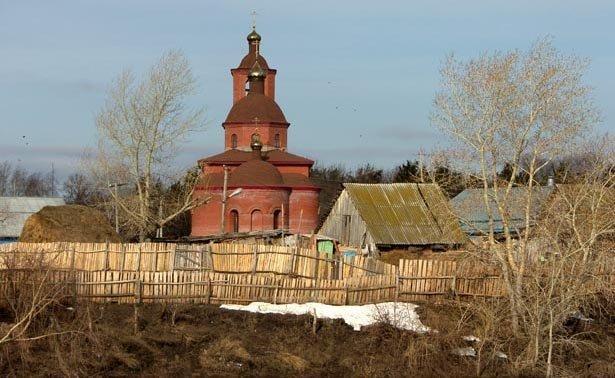 SH100054-1 Церковь в Нагаево (Уфа) Башкирия Блог писателя Сергея Синенко Православие