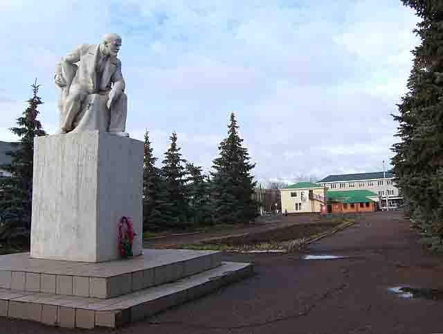 SH105804_22 Город Давлеканово Башкирия Посреди РУ