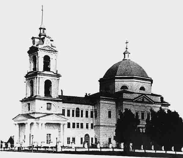 vavozh_nikolaevskaya_cerkov_1835-1938_gg Село Вавож (Николаевское) в Удмуртии Посреди РУ Удмуртия