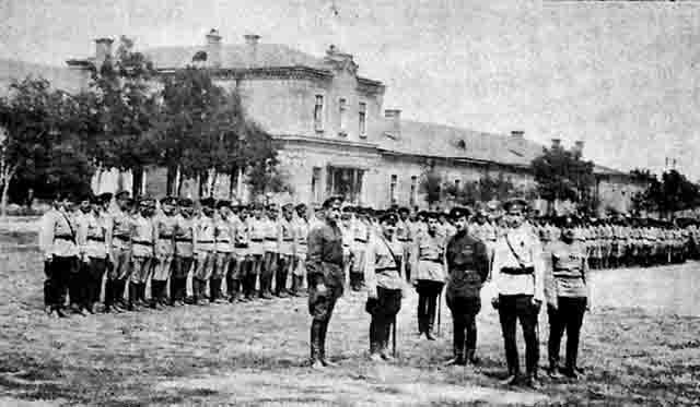 00123 Георгиевское знамя Ижевской дивизии Защита Отечества Удмуртия