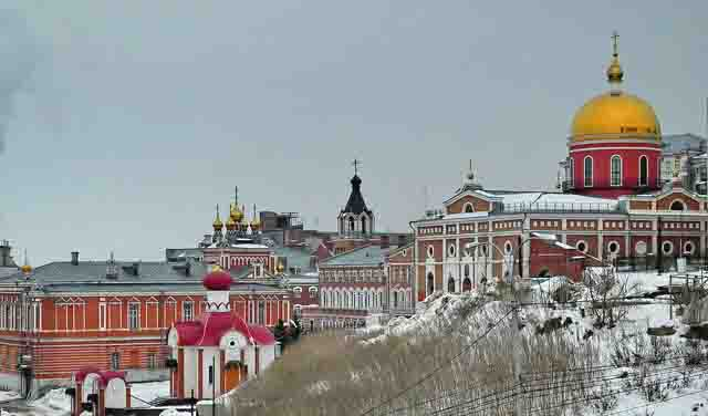 111 Самарский Иверский женский монастырь Православие Самарская область