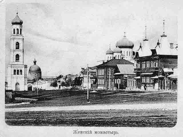 11101 Самарский Иверский женский монастырь Православие Самарская область