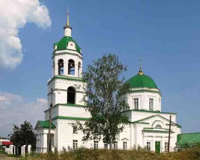 hram-v-zavyalovo.jpeg Православные святыни Удмуртии Православие Удмуртия