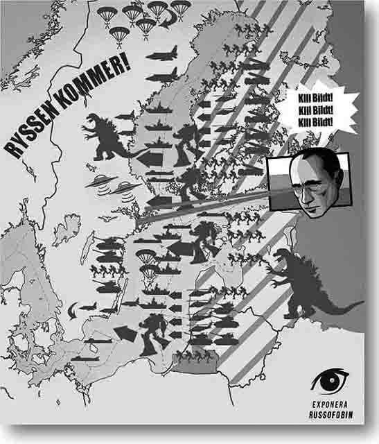 789-1 Русофобия по-норвежски Анализ - прогноз