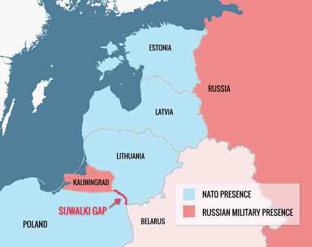 kaliningrad_oblast Коридор из России в Калининградскую область Анализ - прогноз Защита Отечества