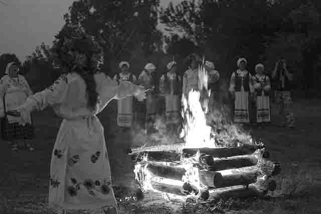 obrjad-sozhzhenija-kostromy Обряд сожжения Костромы в Уфимской губернии Башкирия Народознание и этнография
