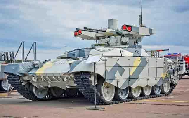 BMPT-Terminator-3 БМПТ «Терминатор-3» Защита Отечества