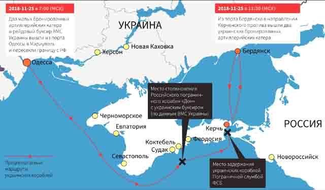 voennaja-provakacija-ukrainy-v-kerchenskom-zalive Инцидент в Азовском море глазами украинских СМИ Защита Отечества