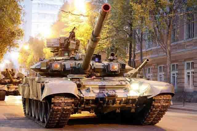T-90A Модернизация танковых войск России Защита Отечества