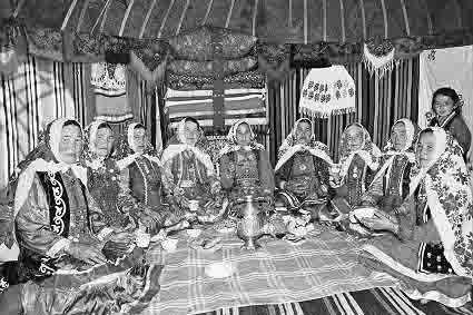 bashkiry-roda-jurmaty-Za-chaem Башкиры из рода юрматы Башкирия Народознание и этнография