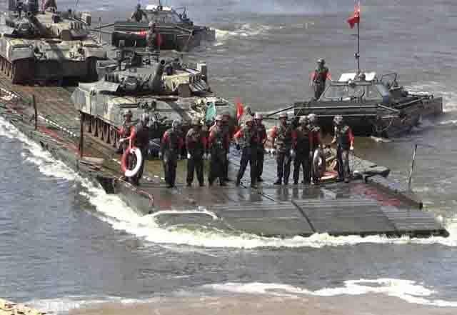 pontony-nastuplenie Батальон спецназначения в Удмуртии Защита Отечества Удмуртия
