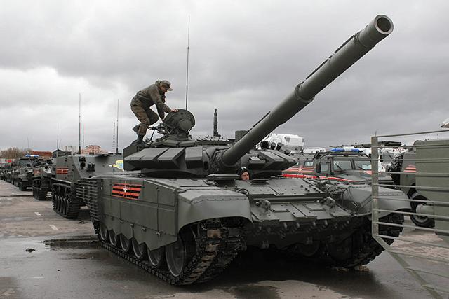 tank-T-72B3M Модернизация танковых войск России Защита Отечества
