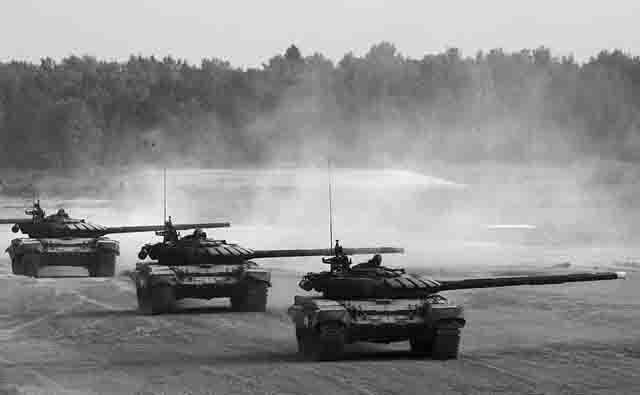 tanki-T-80U Модернизация танковых войск России Защита Отечества