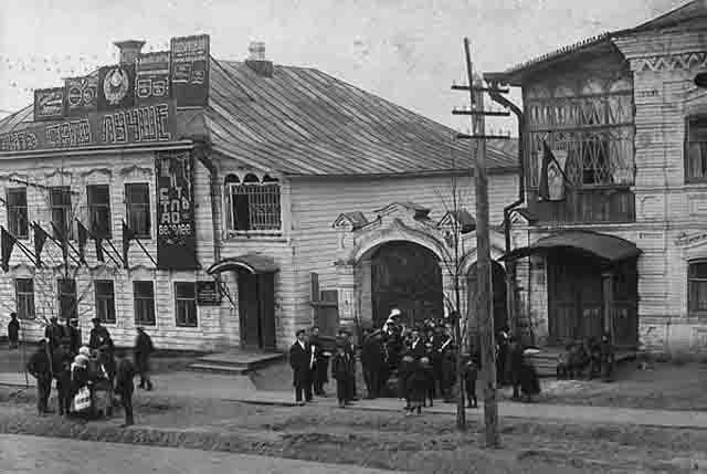 votkinsk-i-votkinskij-zavod-may1937 Воткинск и Воткинский завод (Удмуртия) Посреди РУ Удмуртия
