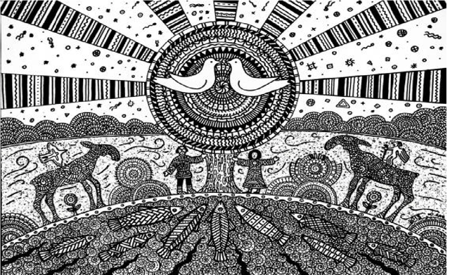 finskij-ornament Идеологияфинно-угорского национализма Анализ - прогноз Марий Эл Мордовия Удмуртия