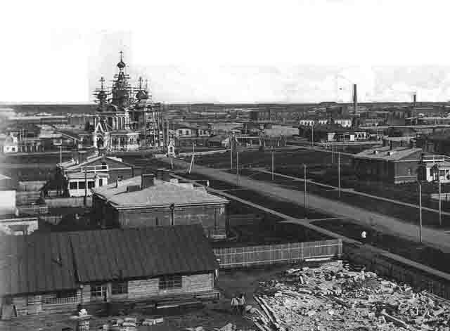 chapaevsk-1917-g. Город Чапаевск (Самарская область) Посреди РУ Самарская область