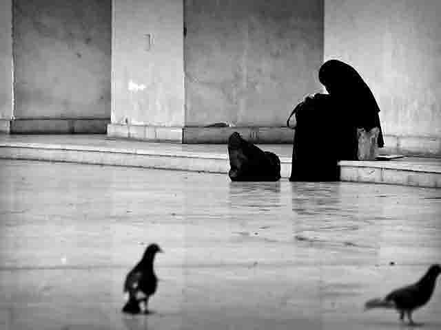muslim-woman Террорист-одиночка не так уж и одинок... Антитеррор