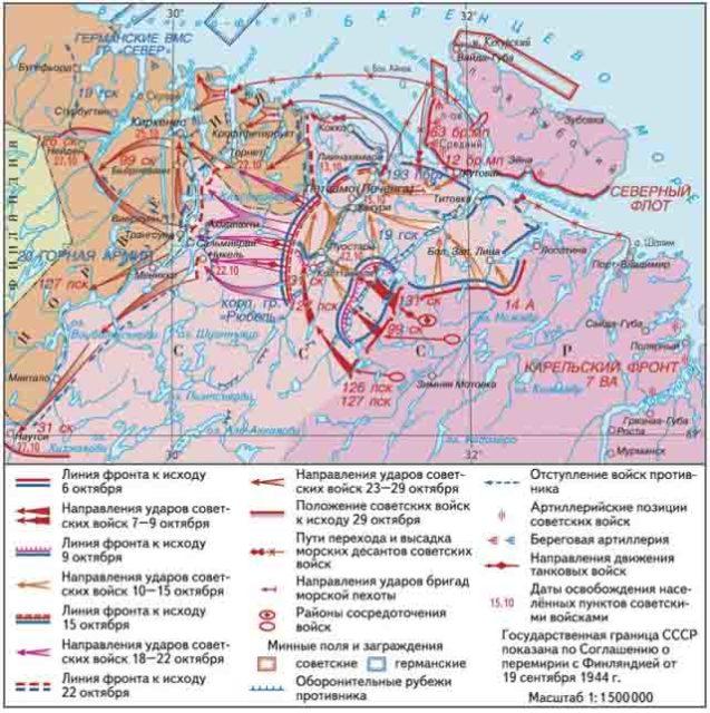 petsamo-kirkenesskja-operacija-1944-g. Советский десант в Норвегии Защита Отечества