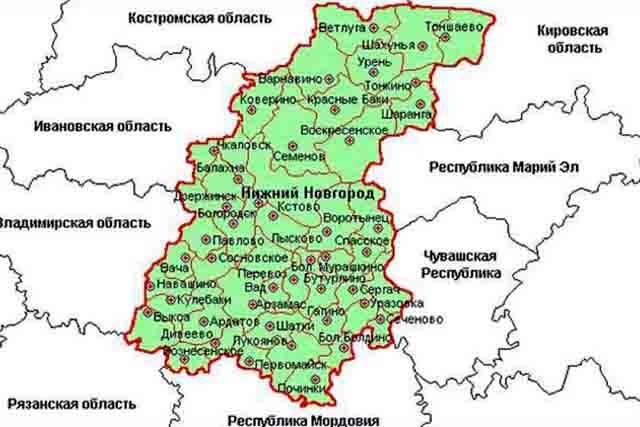 nizhegorodskaja-oblast Нижегородская область Нижегородская область Посреди РУ Регионы