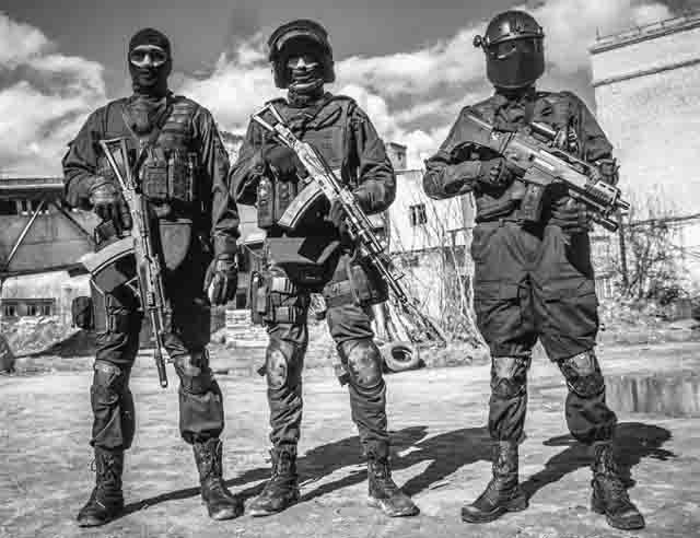 trenirovka Страйкбол в подготовке бойцов антитеррора Антитеррор