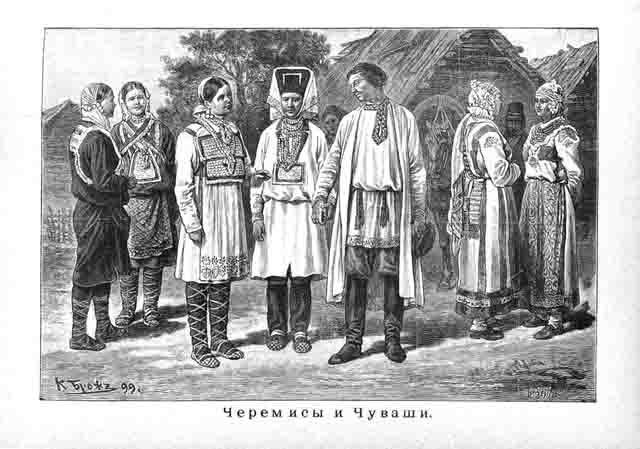 cheremisy-i-chuvashi Национальный состав Российской империи Анализ - прогноз
