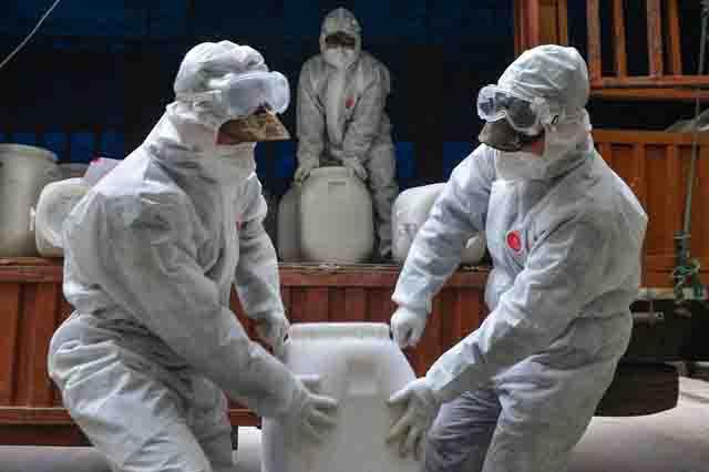 dezinfekcija Инфекционная безопасность в условиях пандемии Анализ - прогноз