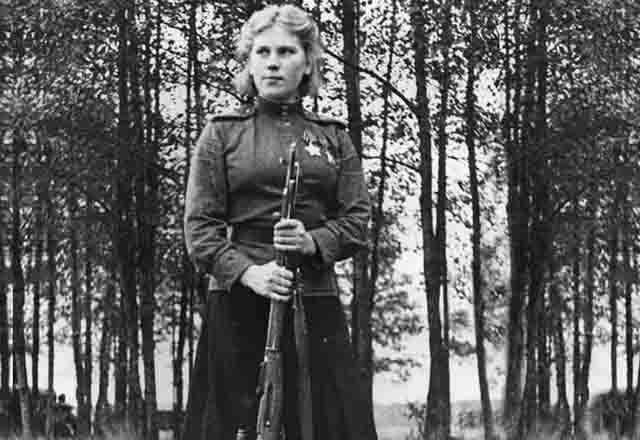 iroza-shanina-snajper-3 Роза Шанина, советский одиночный снайпер Защита Отечества