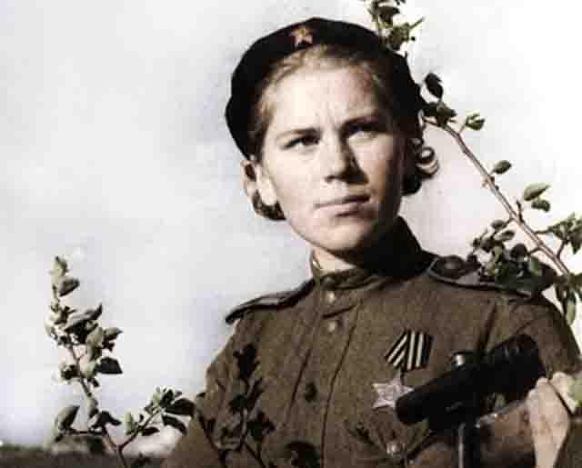 roza-shanina-snajper Роза Шанина, советский одиночный снайпер Защита Отечества